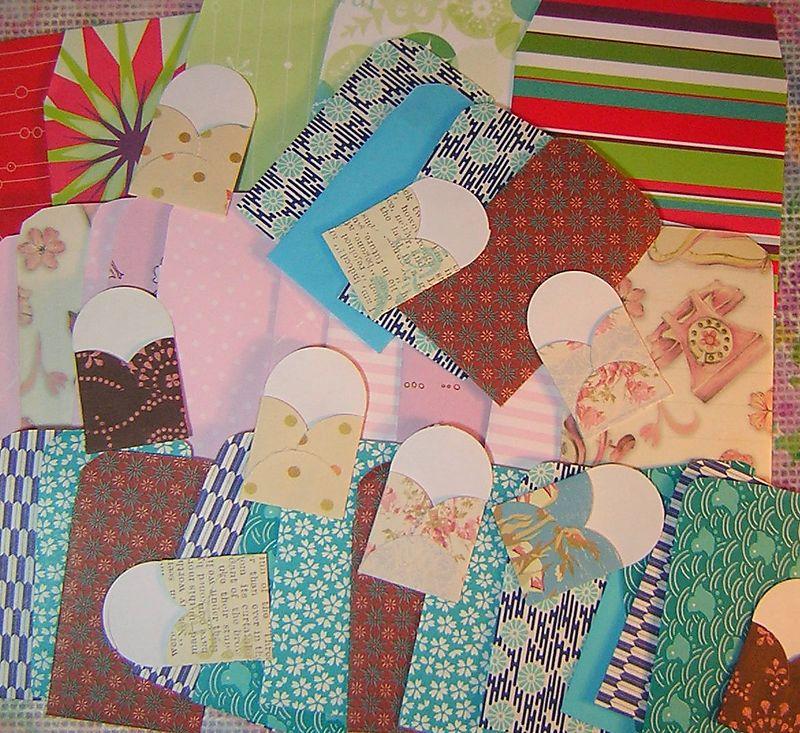 30 envelopes