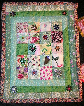 Patch fairy quilt