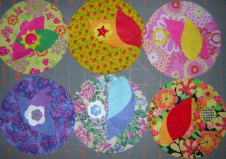 Flower pincushions 1