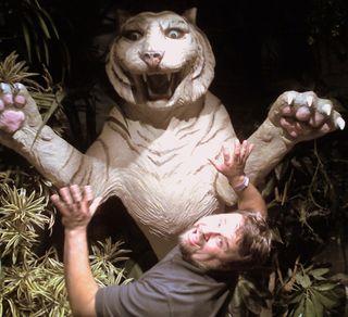 Brett with White Tiger