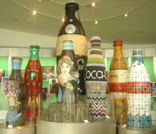Coke Statues