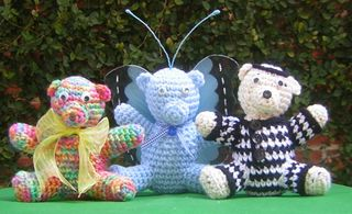 Crocheted Teddies