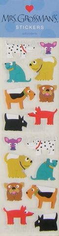 110909Dog Stickers
