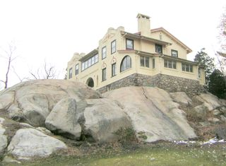 House on boulders