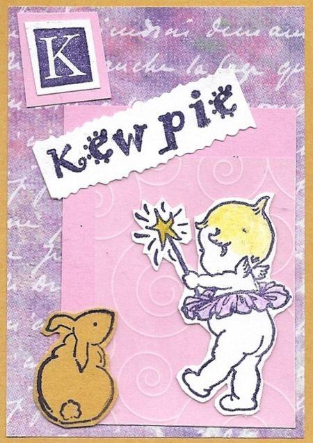 K is for Kewpie