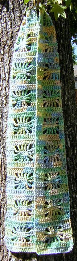 Seascape scarf