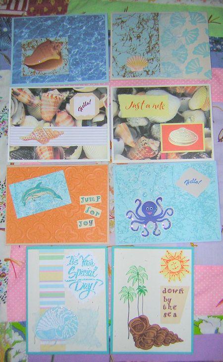 Ocean Life Cards