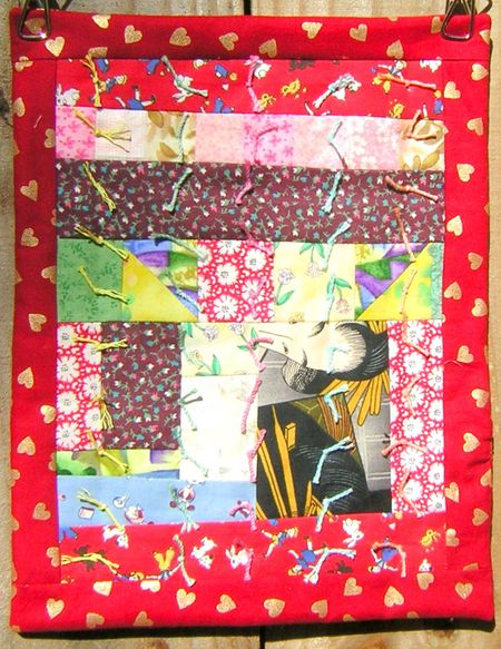 Tied doll quilt