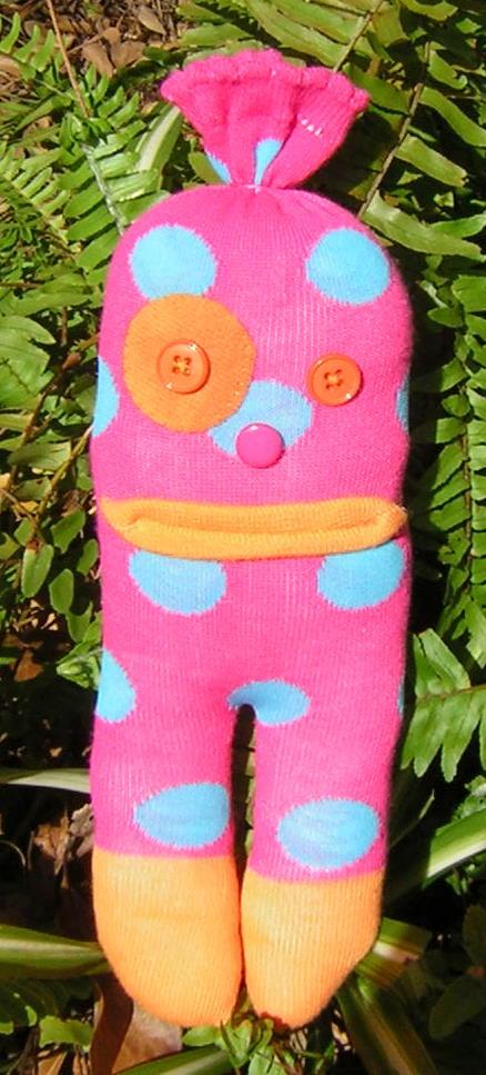 Pink Sock Creature