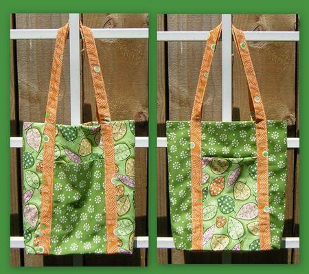 Poochie bag green