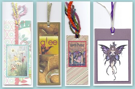Hand-made bookmarks