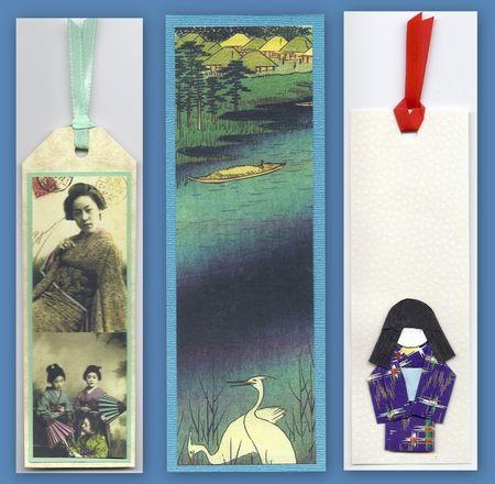 Oriental bookmarks