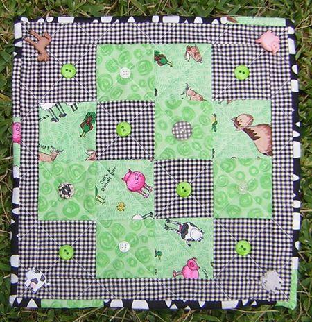 Summer mini quilt