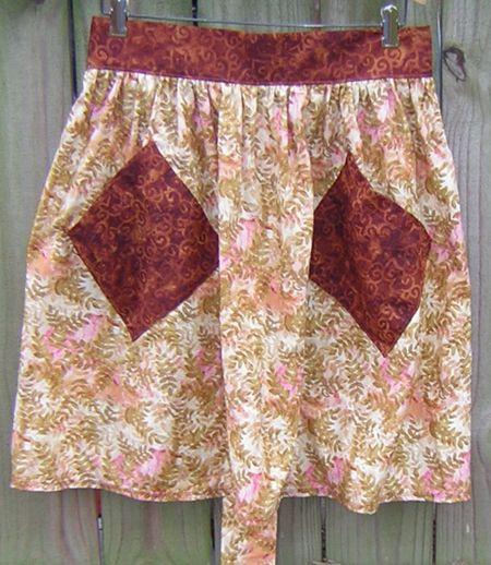 Rust apron 2