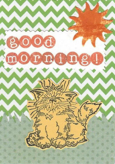 Good morning Cat ATC