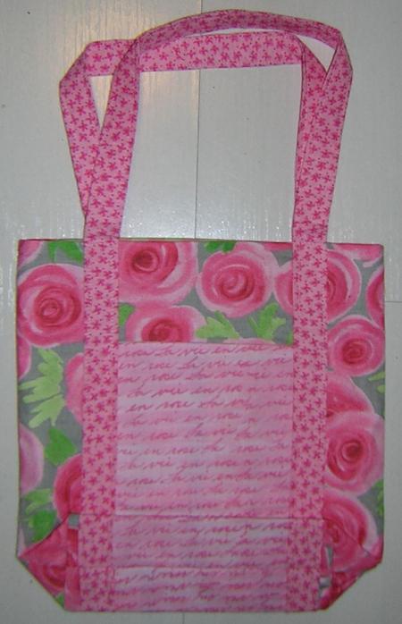 Rose pink poochie bag