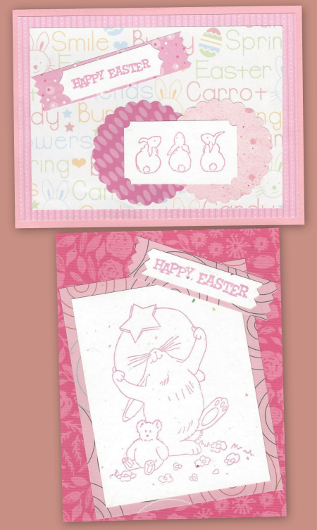 2 easter cards