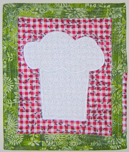 Barbecue mini quilt